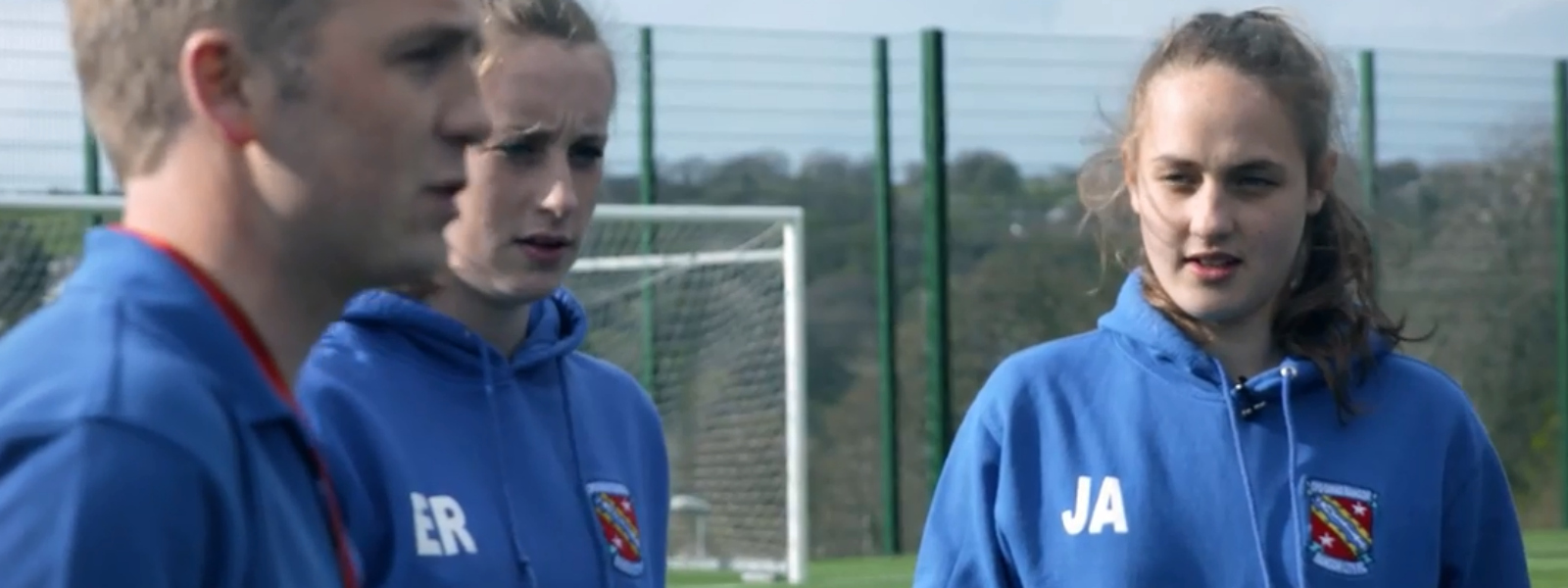 'Football is not just a man's game, it's anybody's game' Bangor City player Jade Adams explains why she loves our game