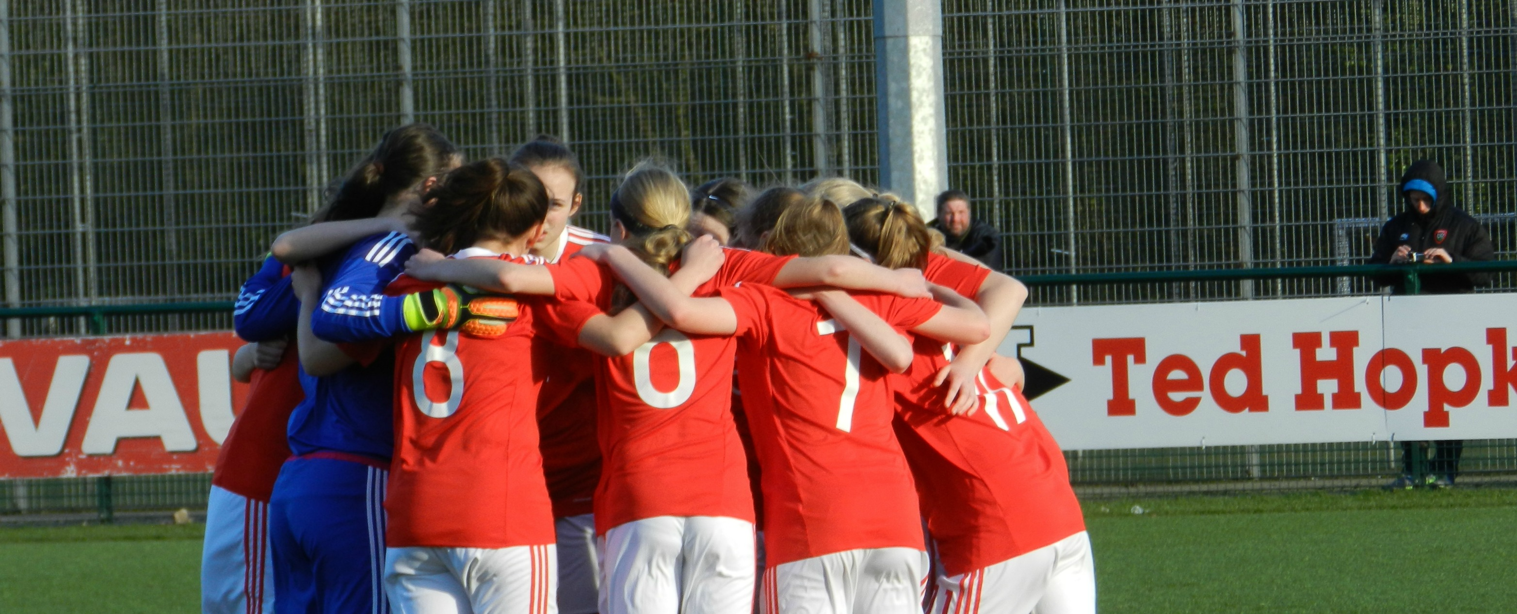 Here's the Wales U15 Girls squad selected for Home Nations Tournament