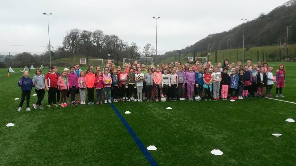 Girls Only Football Festival and Easter Soccer Camp Held at Bangor City FC
