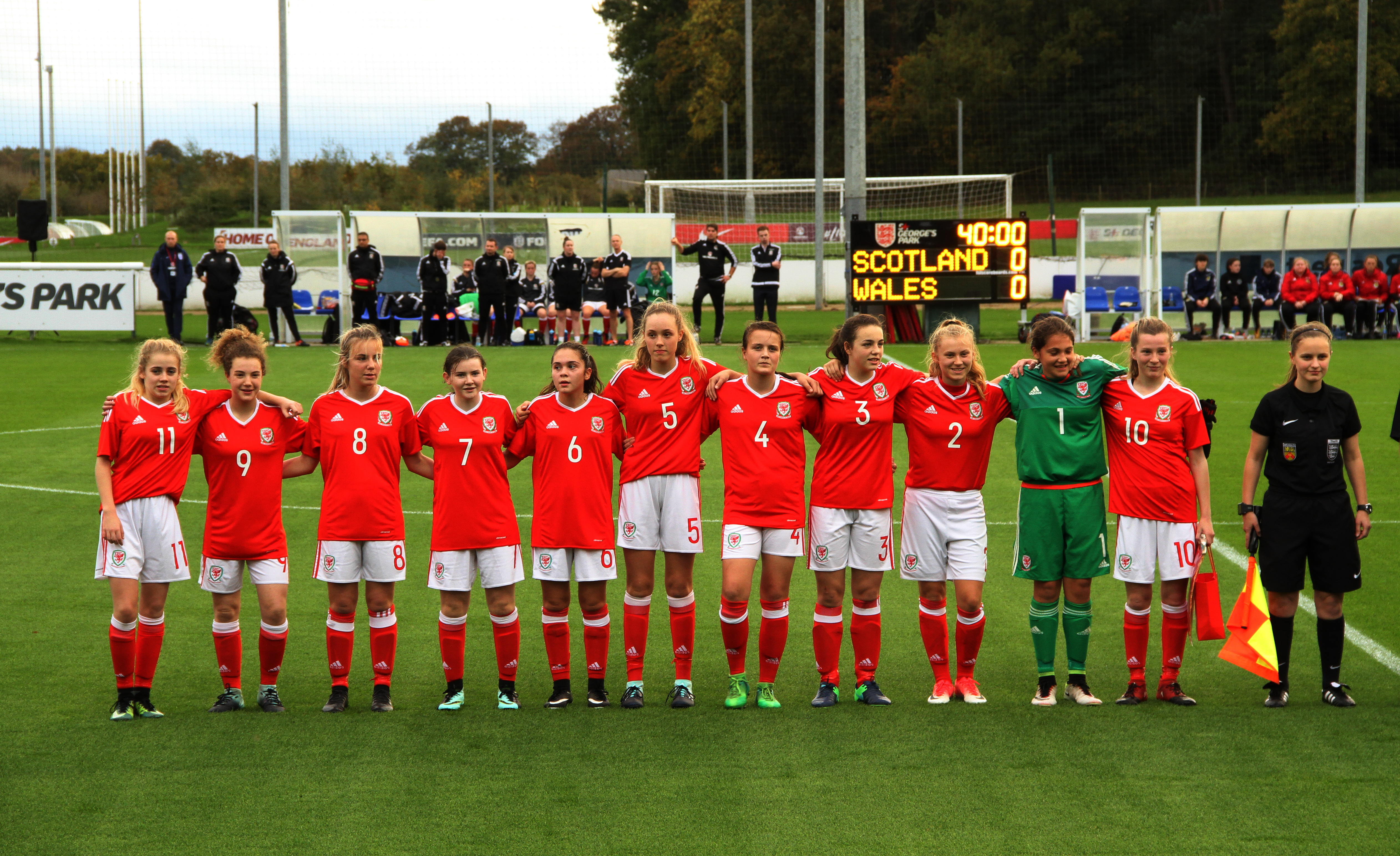 Wales U15 coach proud of performances at St George's Park