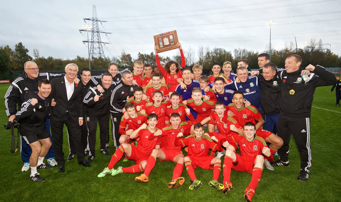 WALES U16 RETAIN THE VICTORY SHIELD