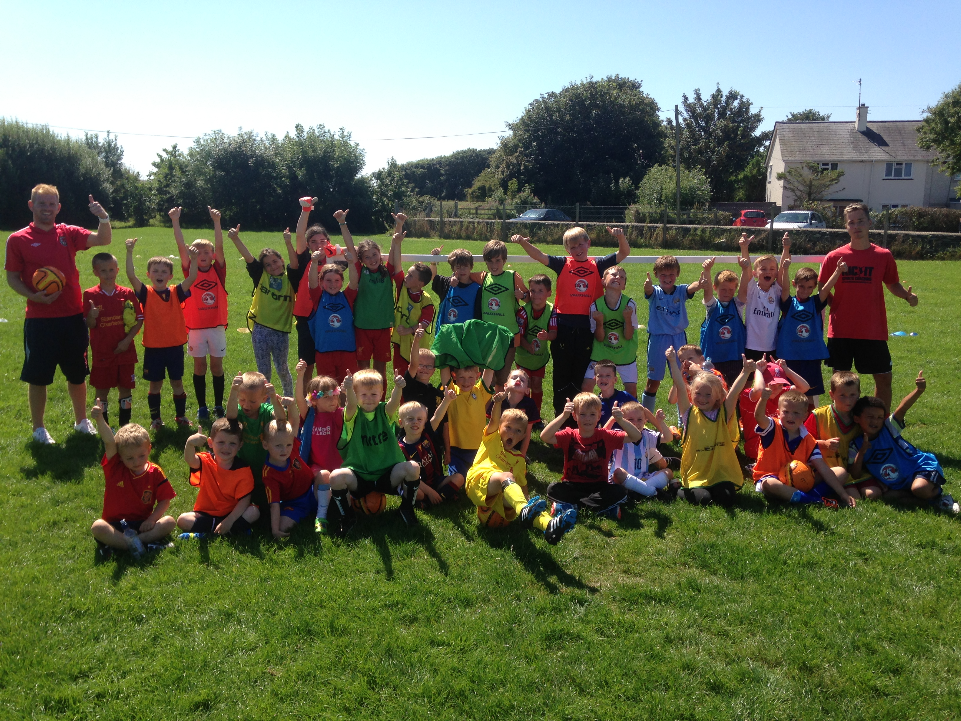 KICK IT Sports and Vauxhall bring football fever to North Wales