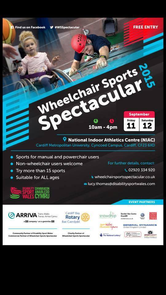 Arriva Trains Wales Wheelchair Sports Spectacular – Health & Sport Partnership Workshops