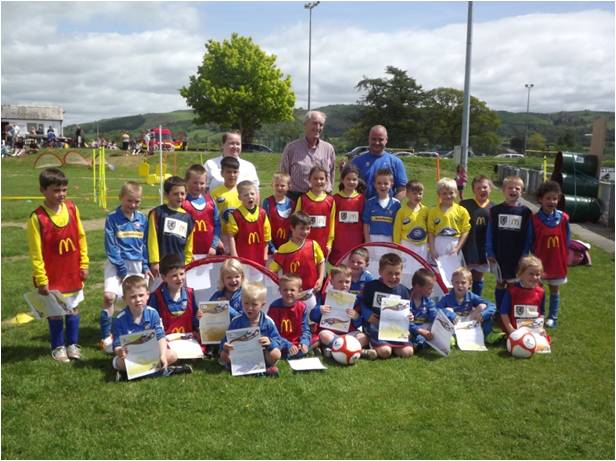 Central Wales grassroots football in safe hands