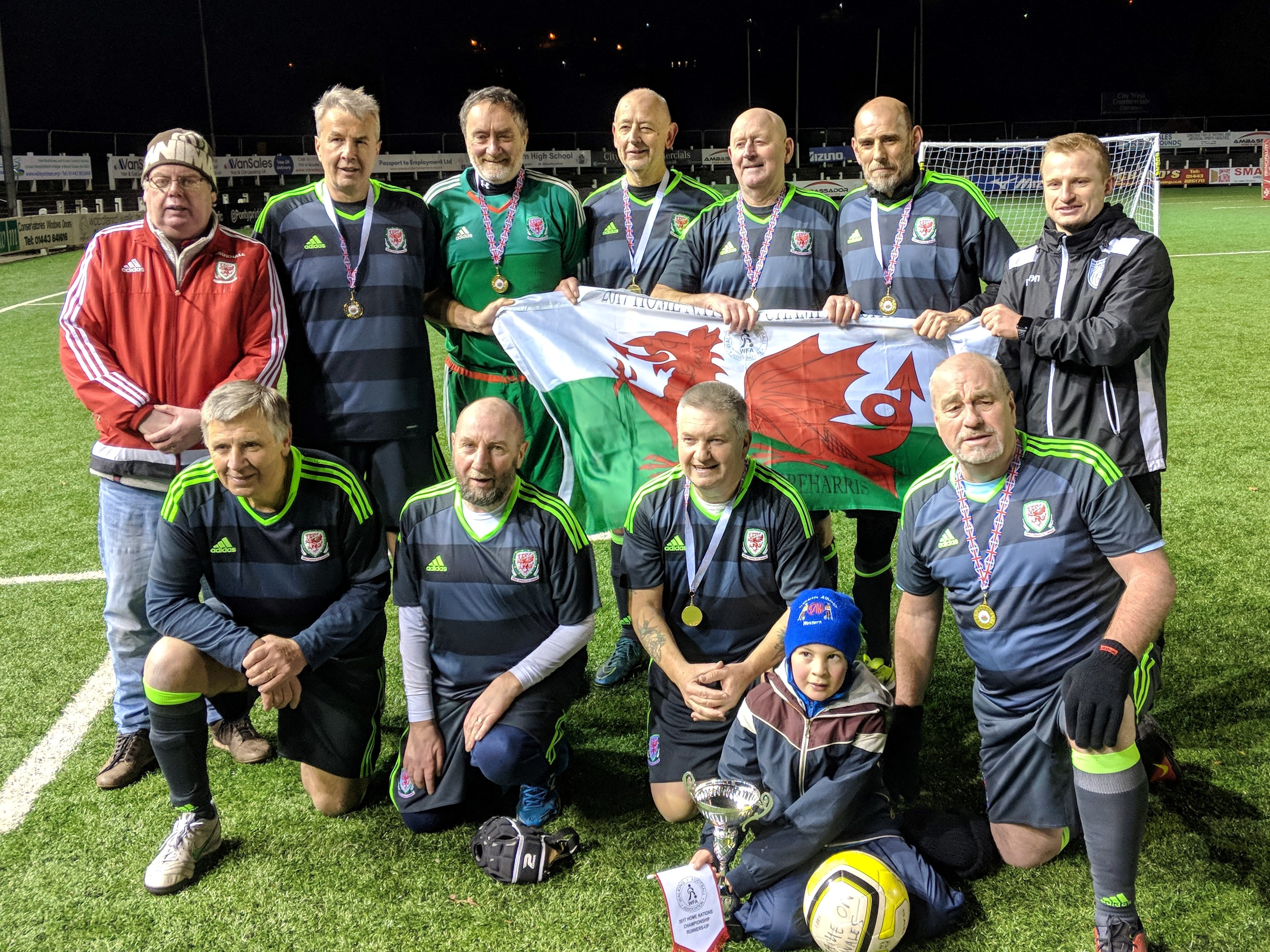 Wales defeated by England in Walking Football international clash