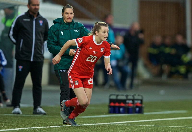 First kick to National Team: Carrie Jones' epic journey from her nan's farm to the Wales Women's team