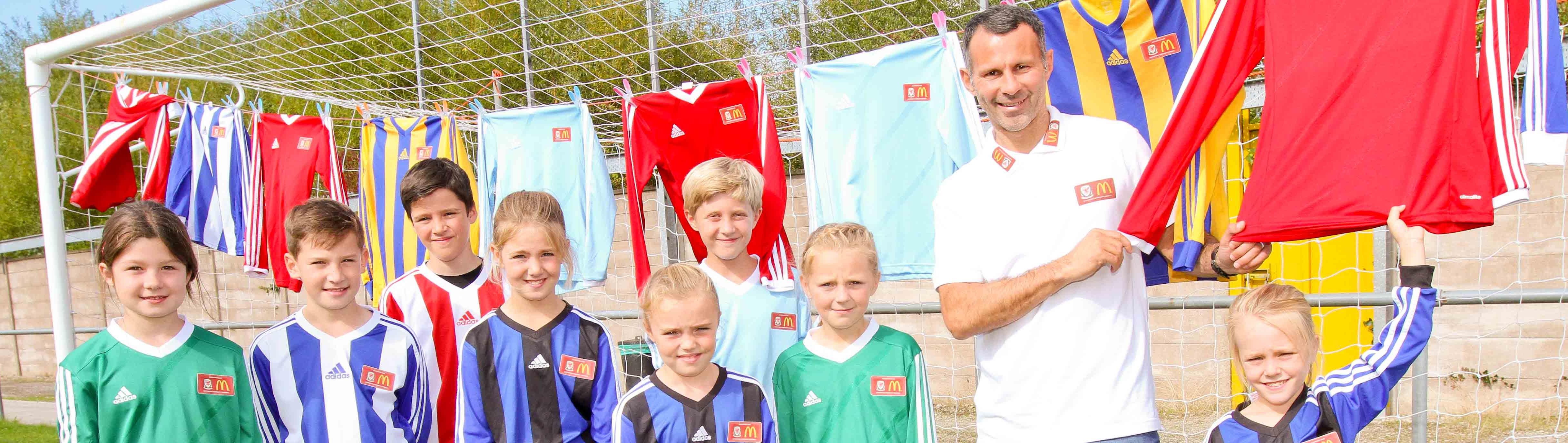 McDonald's Offer 70,000 Free Kits to Accredited Grassroots Clubs in the UK