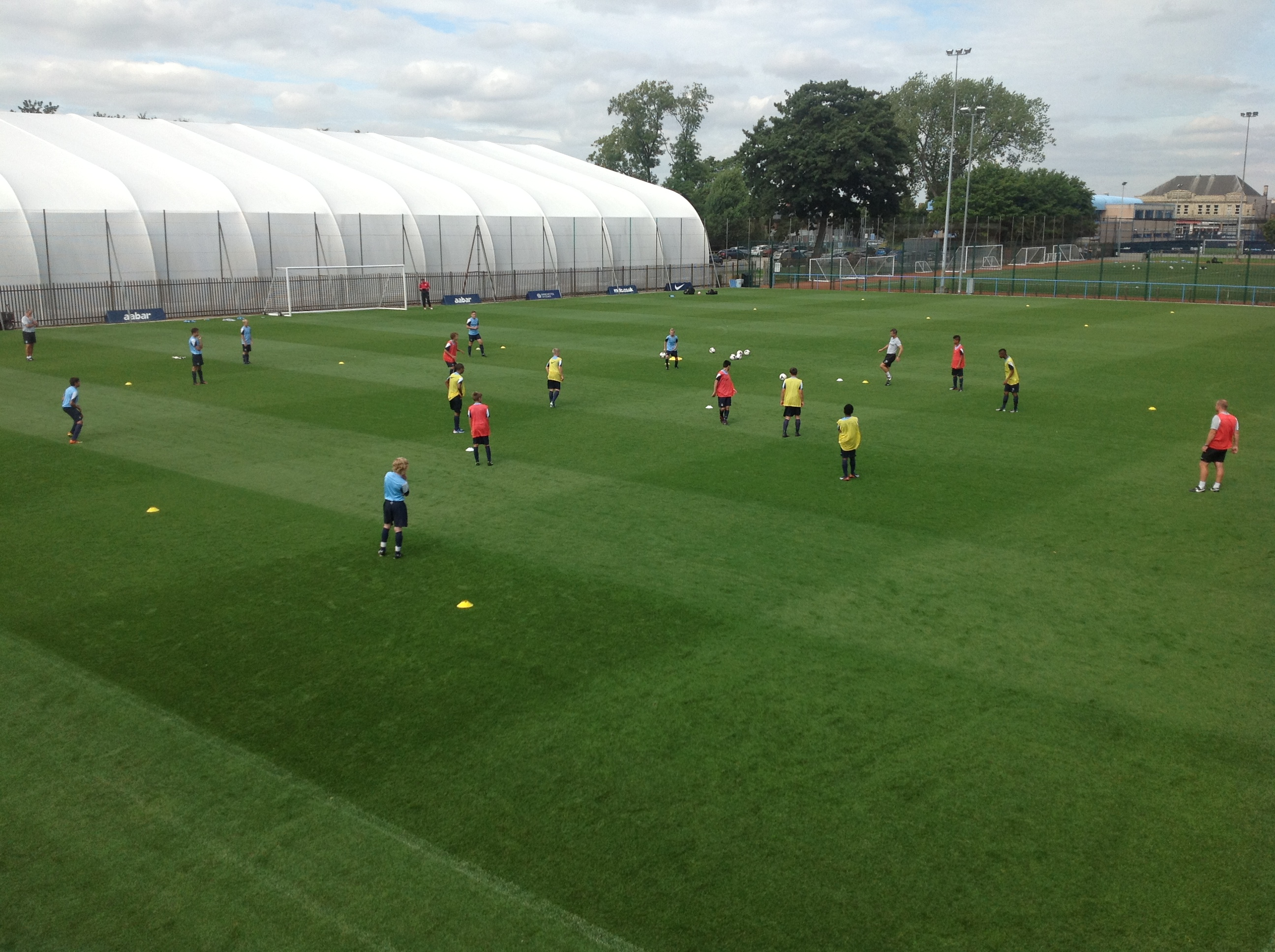 Coach Mentoring Study Group Visit – MCFC Academy