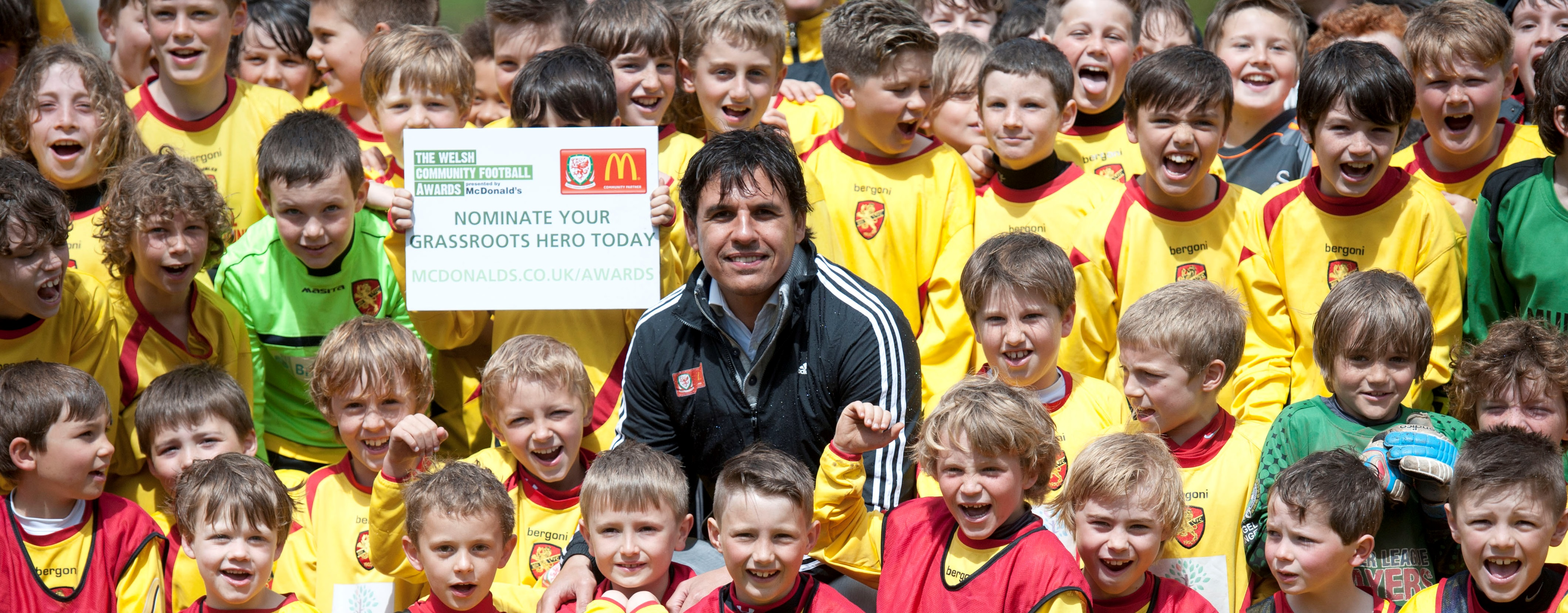 Nominations for 2014 Welsh Community Football Awards, presented by McDonald's now open