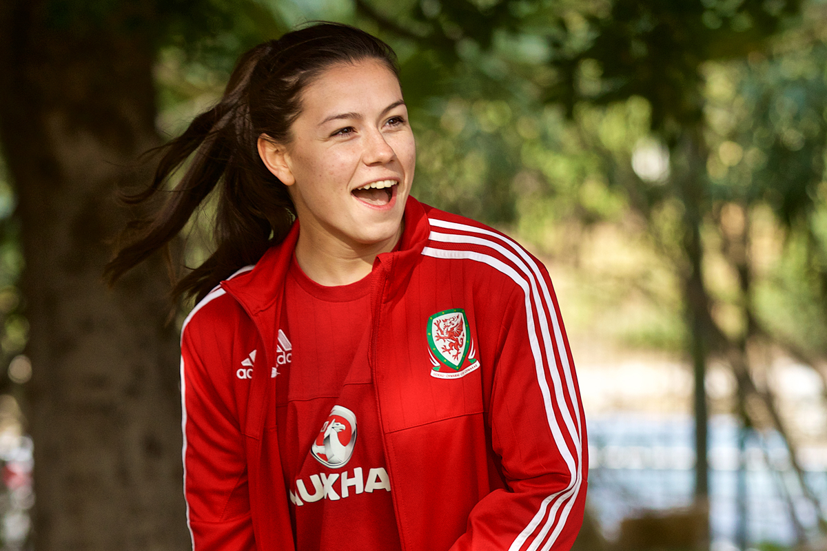 How this Wales international Ffion Morgan is inspiring girls