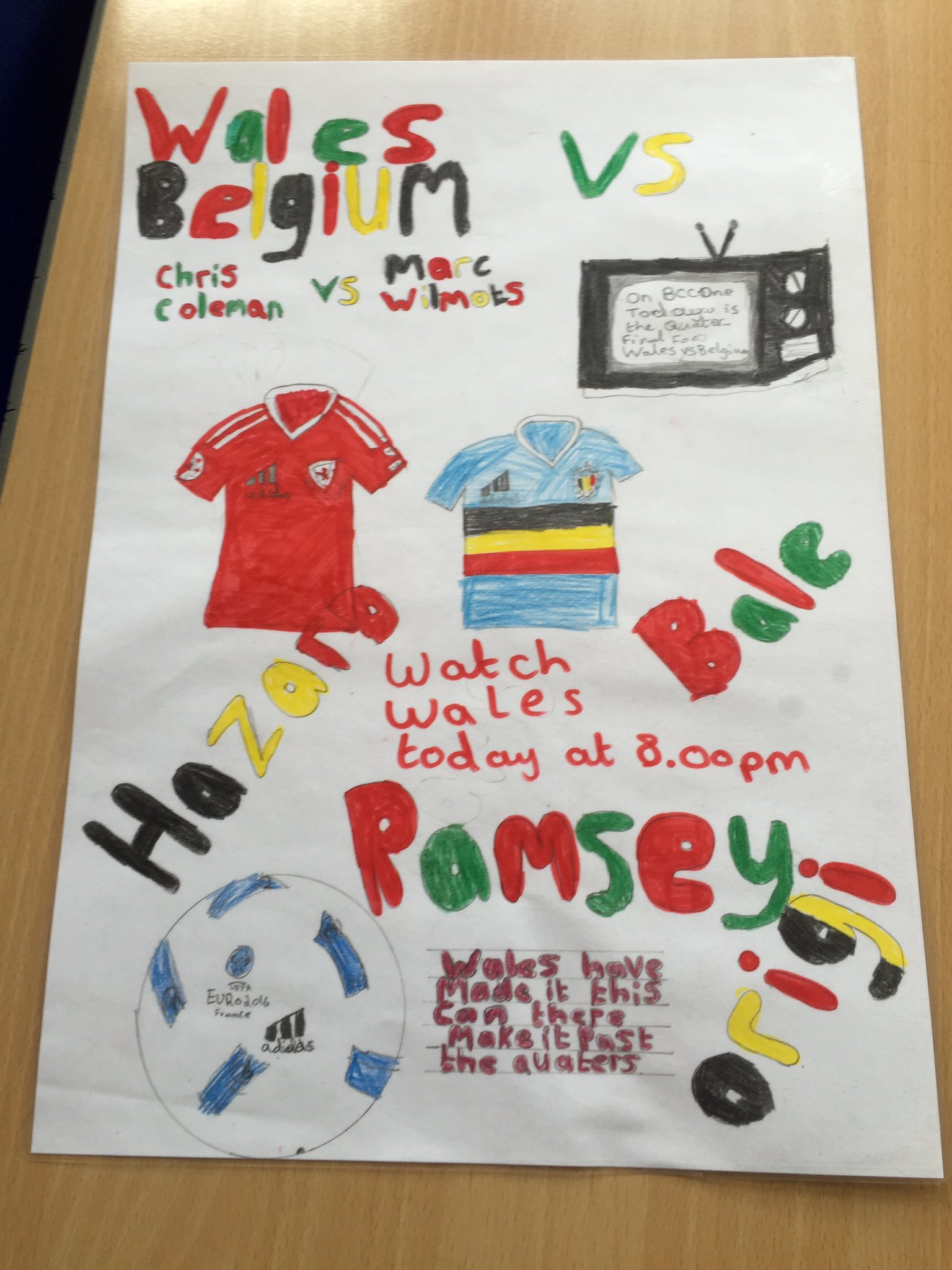 How Wales' win has created excitement in classrooms across Wales