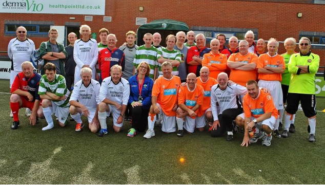 TNS Hosting Walking Football Competition