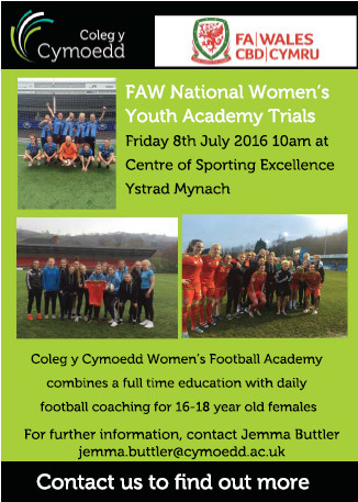 FAW National Women's Youth Academy trials being held – sign up now