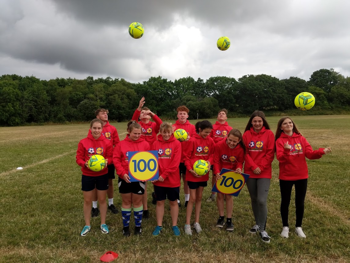 Meet our Lidl Play More Football 100th School