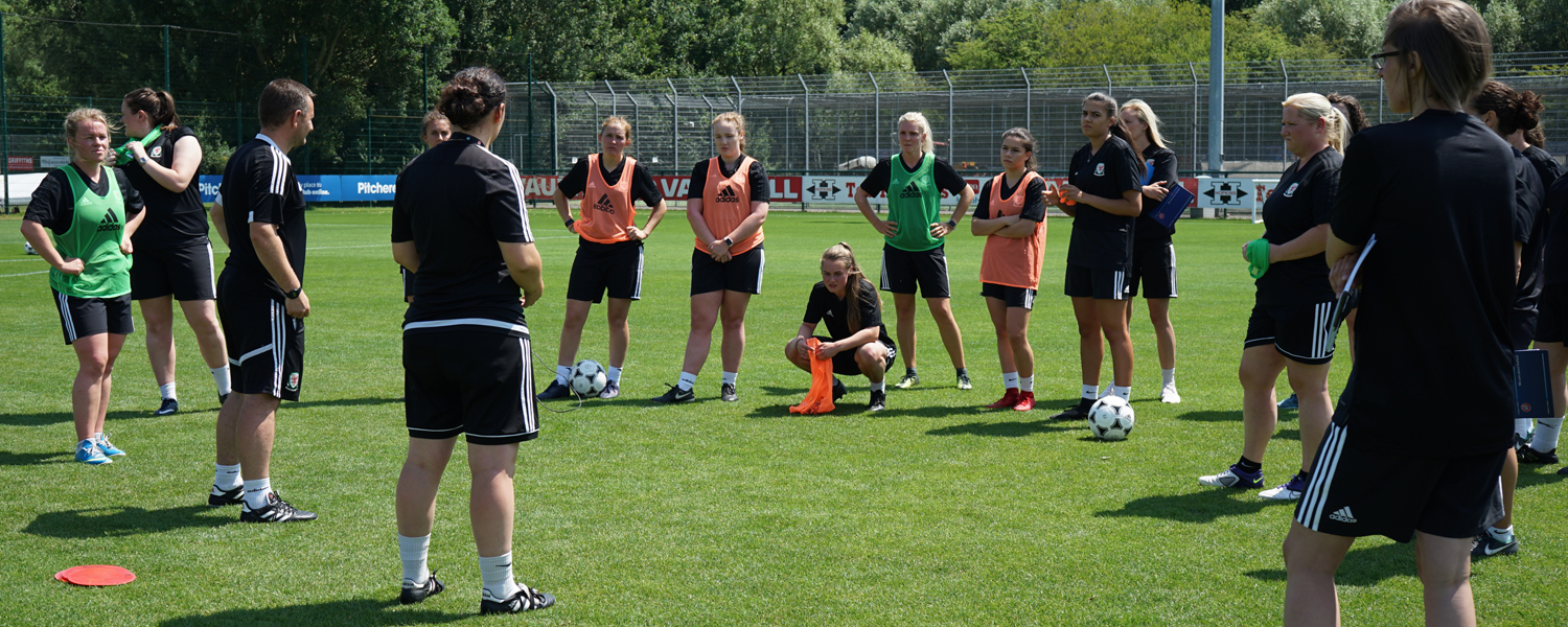 Why Wales' 1st Female Only UEFA B Licence residential course was a huge success