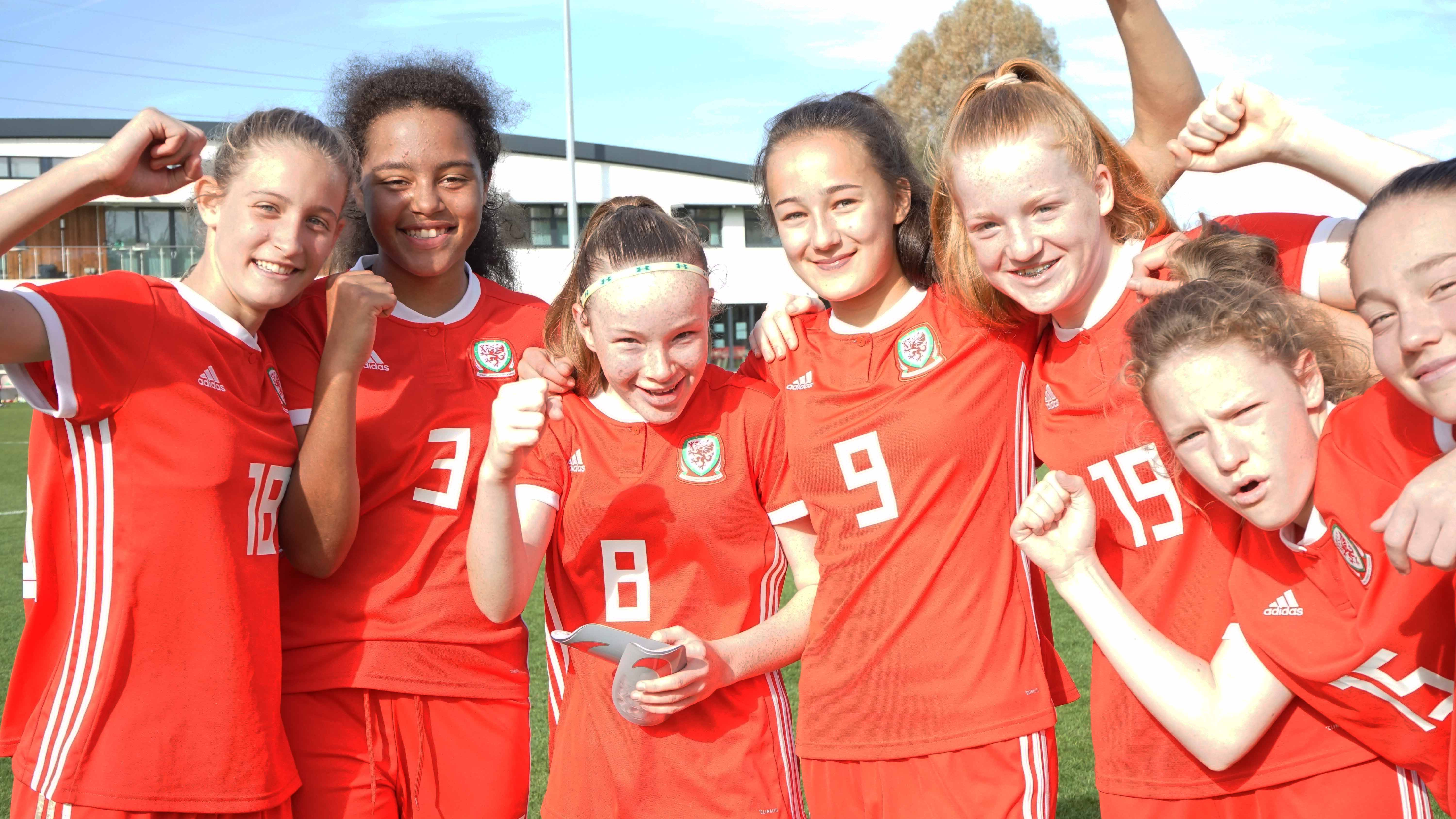 Here's the Wales U15 Girls' Squad to travel to Portugal