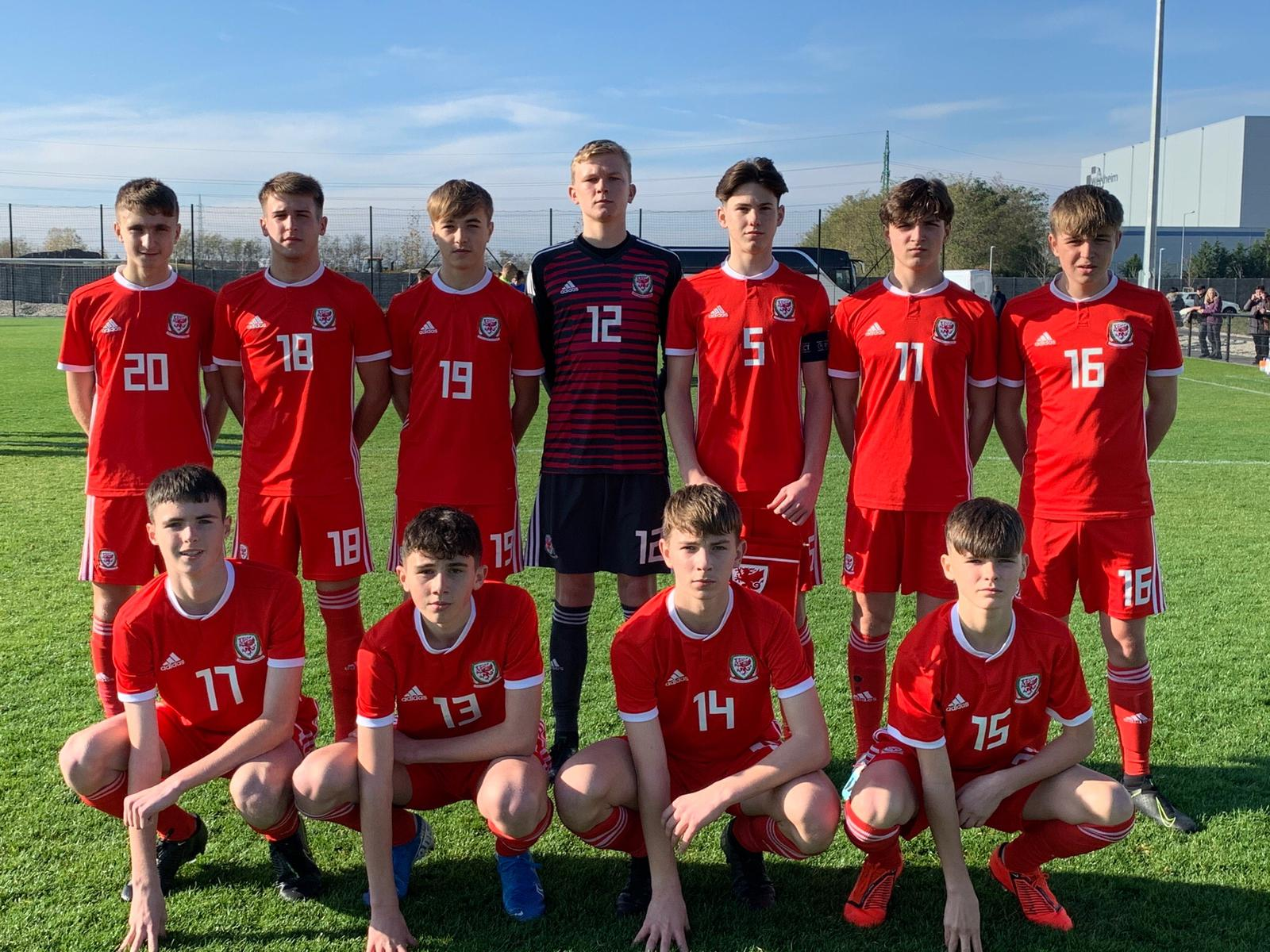 Wales U15 set-out Victory Shield ambitions with unbeaten Slovakia trip